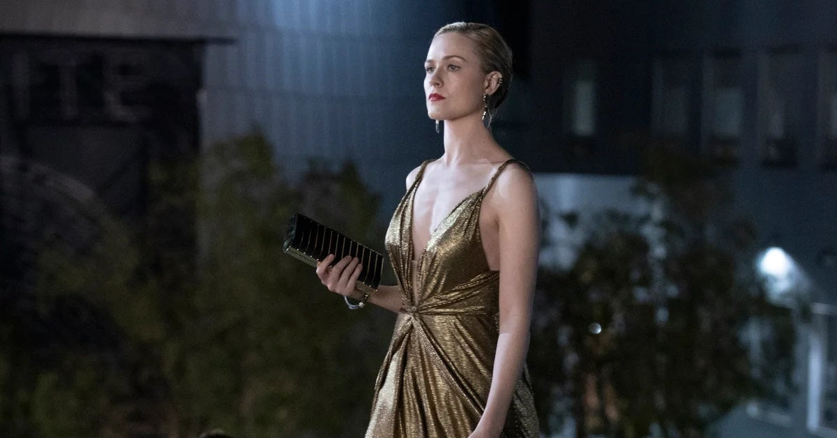 westworld season 3 evan rachel wood dress