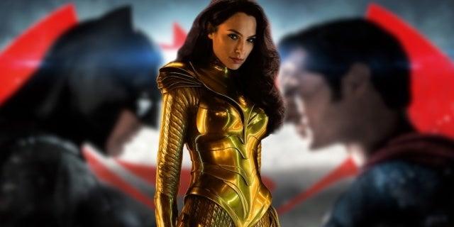 Wonder Woman 1984 Batman v Superman Connections DC Movie Canon