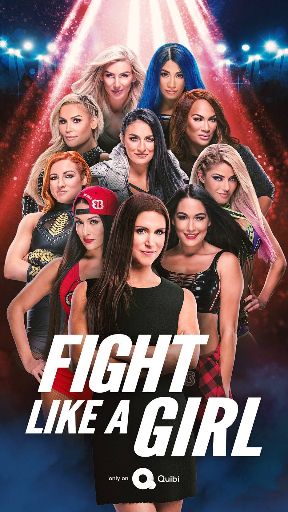 WWE-Quibi-Fight-Like-A-Girl-Poster