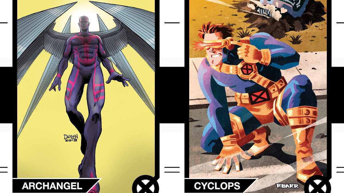 X-Men Trading Cards The ColleXion