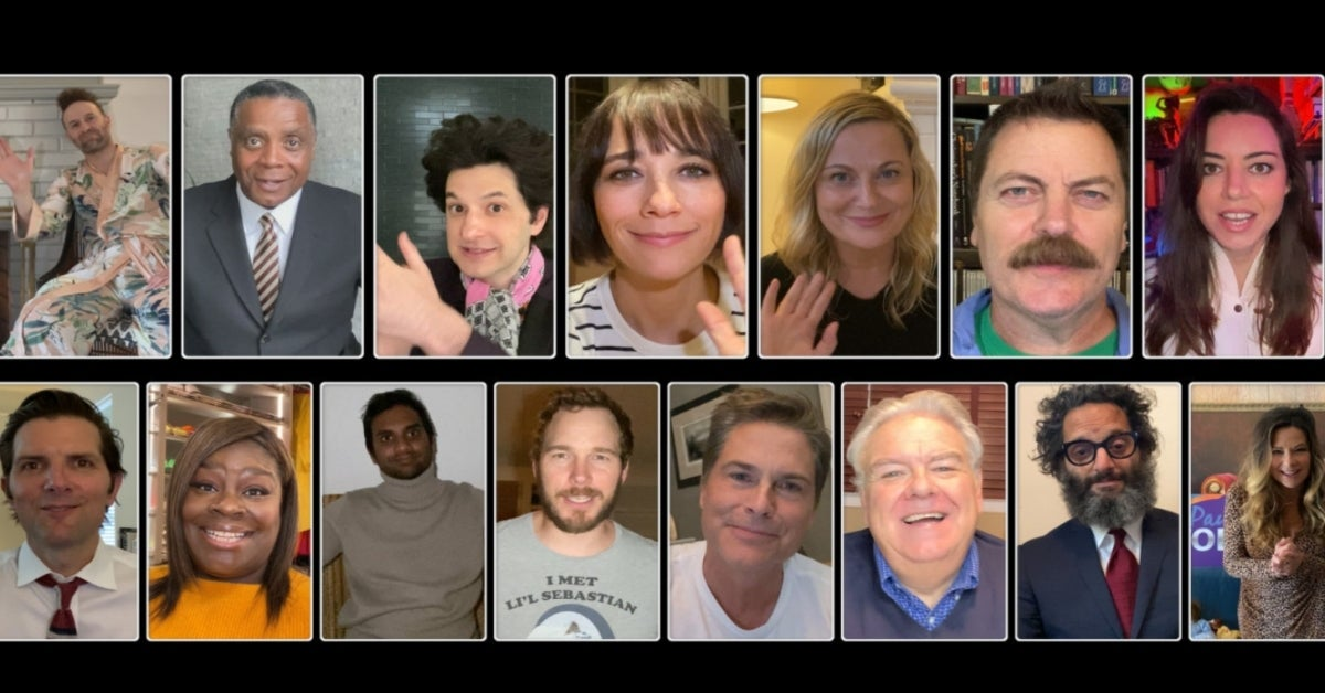 A Parks and Recreation Reunion Special cast