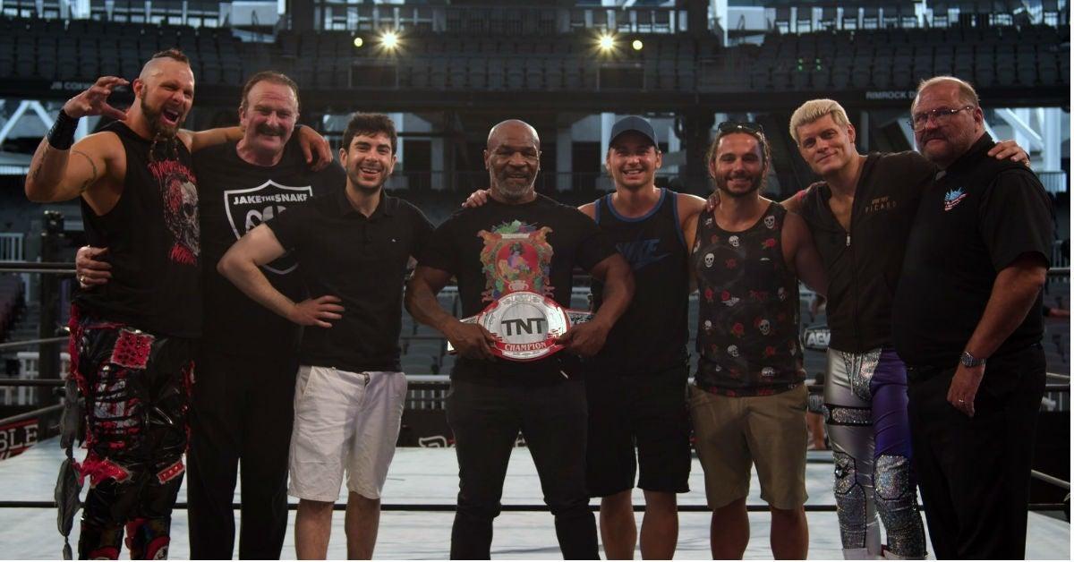 AEW-TnT-Championship-Tony-Khan-Mike-Tyson