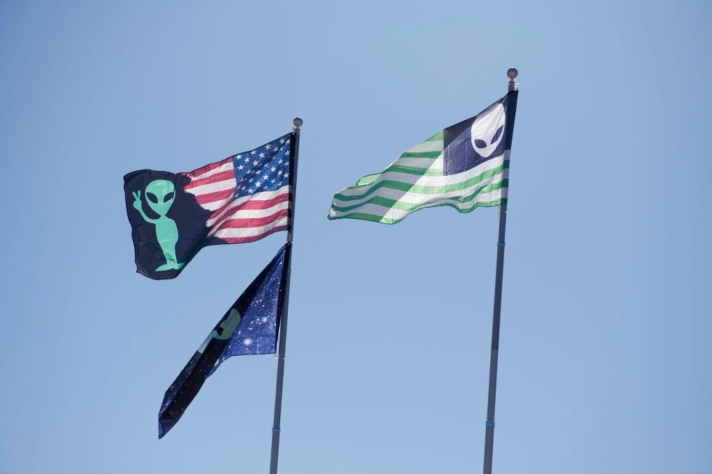 alien flags