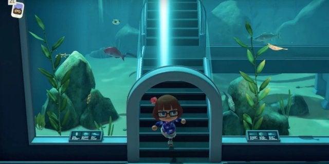 Animal Crossing Aquarium