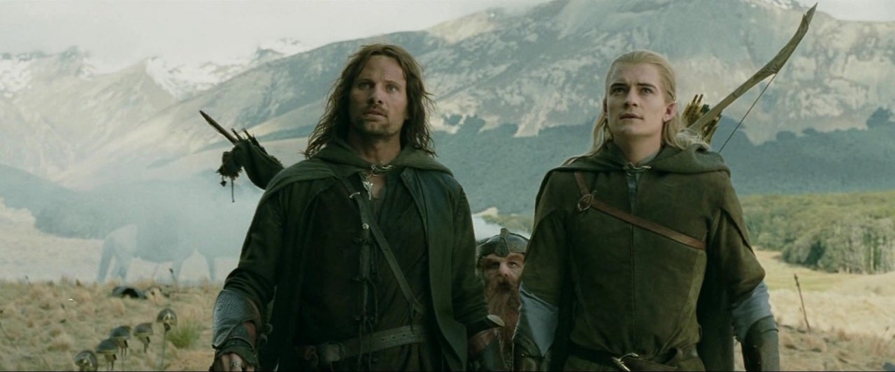 aragorn legolas lord of the rings