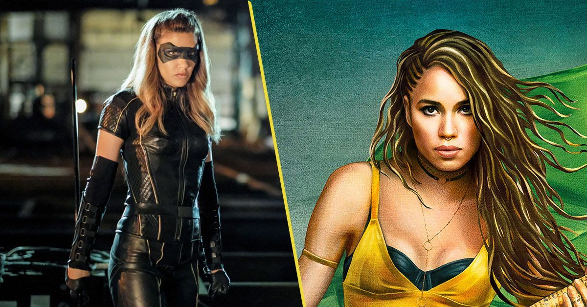 arrow black canary birds of prey