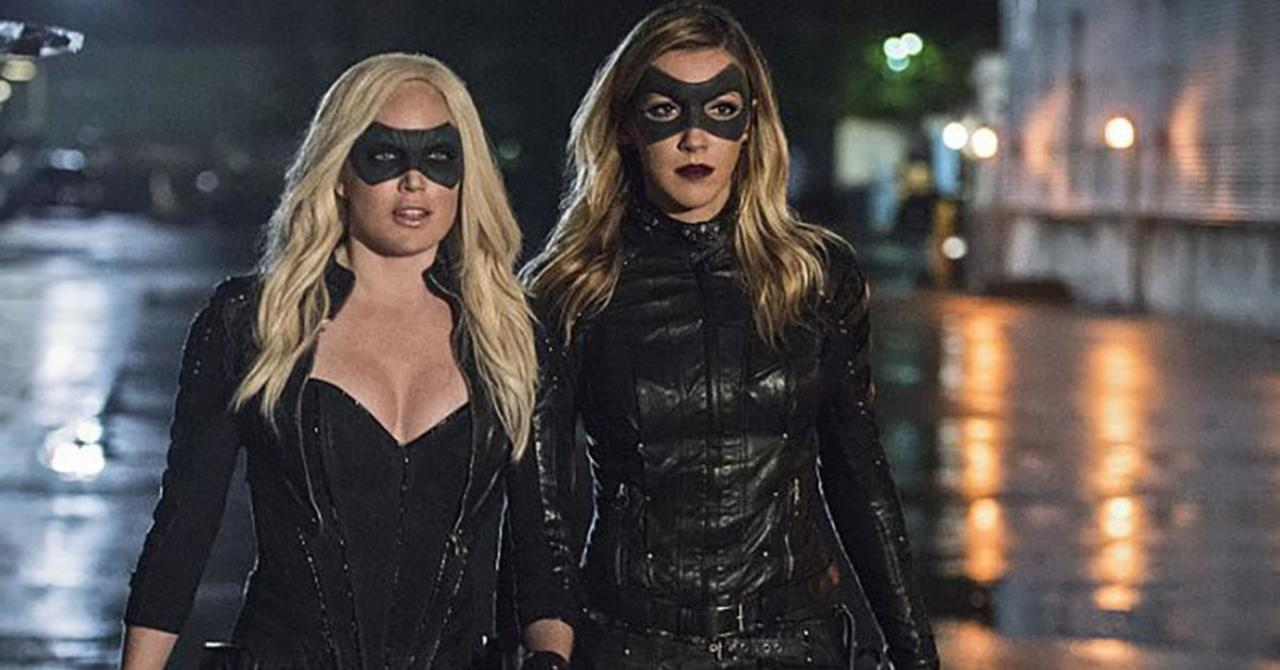 Arrowverse's Caity Lotz and Katie Cassidy Stage Canary Reunion