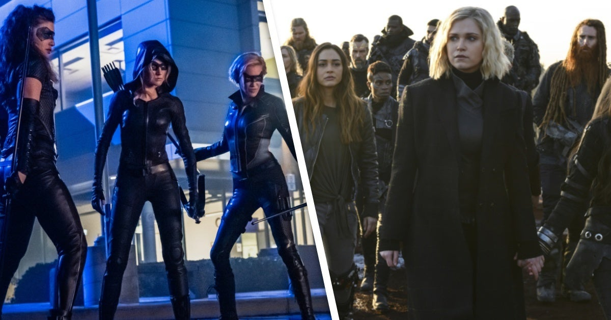 arrow the 100 spinoffs the cw