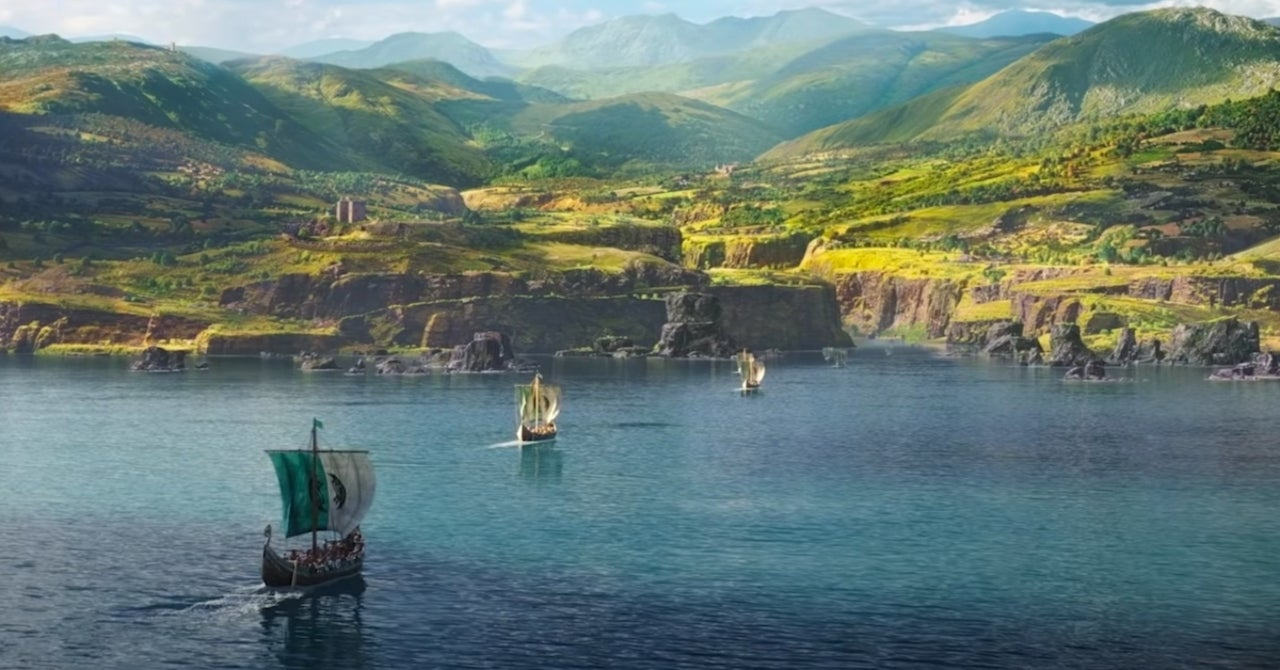 Assassin S Creed Valhalla Developer Teases The Game S Massive Map Size