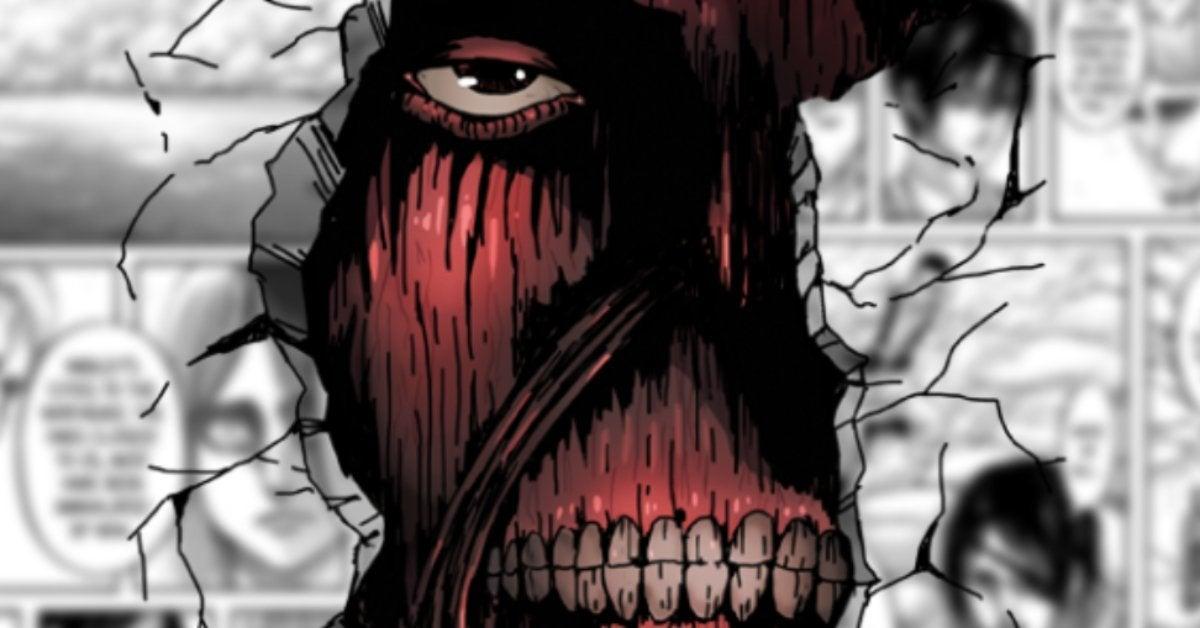 Attack on Titans Wall Titan Damage Manga