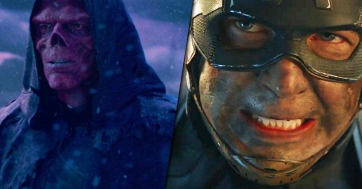 Avengers Endgame Red Skull Captain America