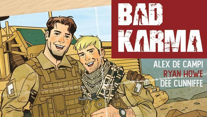 Bad Karma #1 Review - Cover