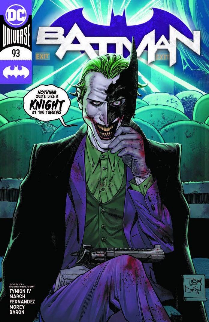 Batman-93-Punchline-Harley-Quinn-Fight-1