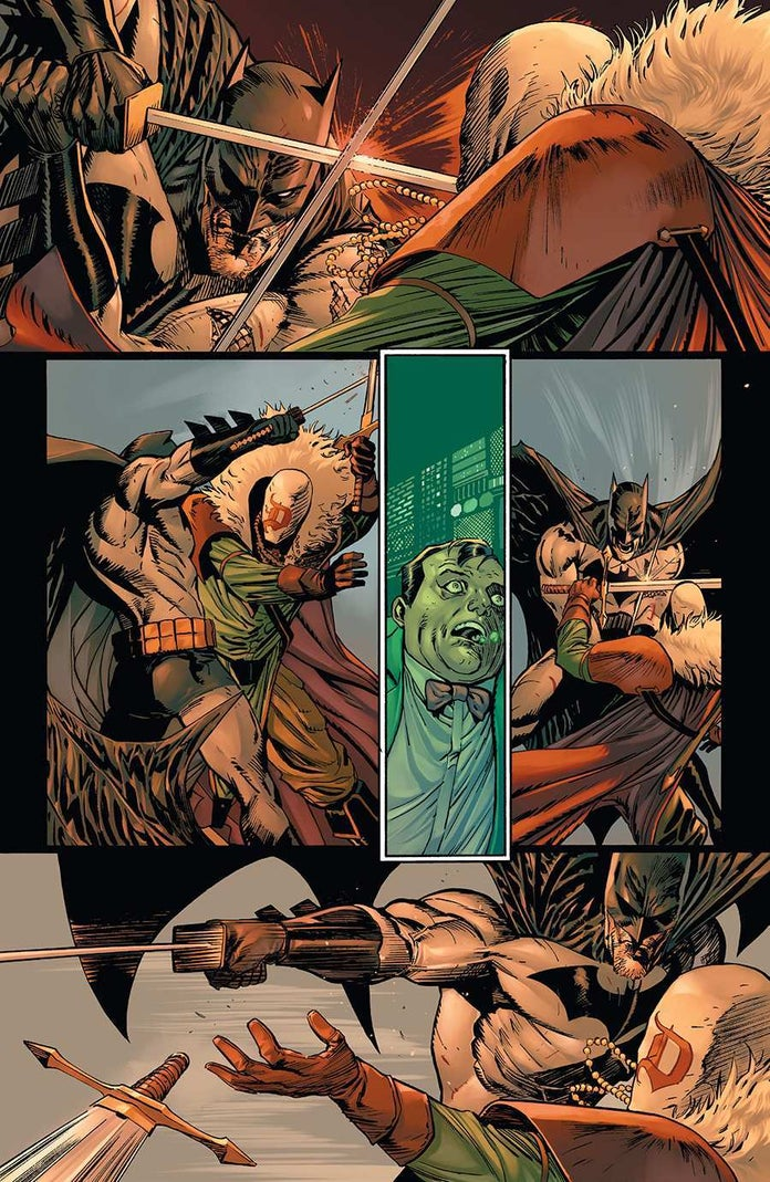 Batman-93-Punchline-Harley-Quinn-Fight-6