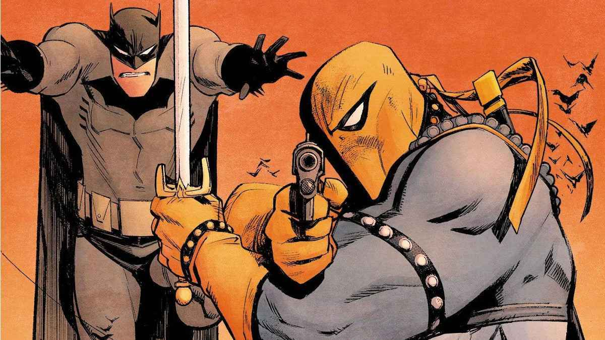 Batman Adventure Continues Deathstroke