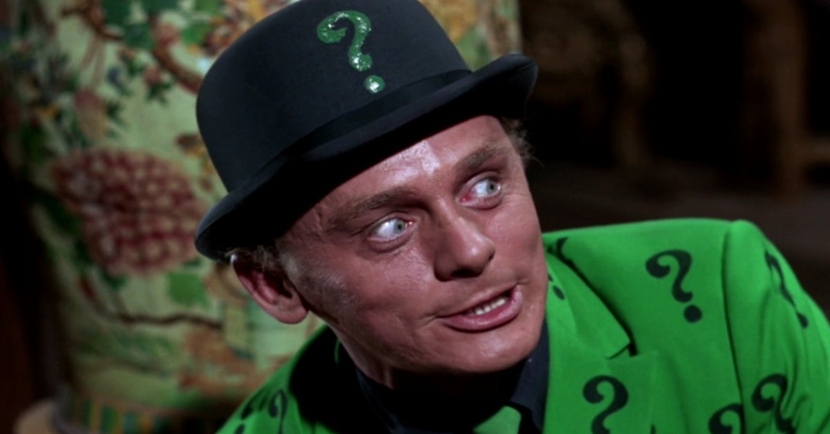Batman Riddler Frank Gorshin