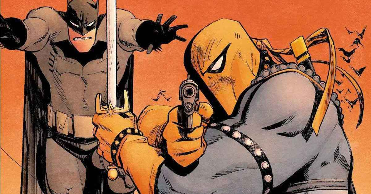 Batman the Adventure Continues Deathstroke Murder Hornets