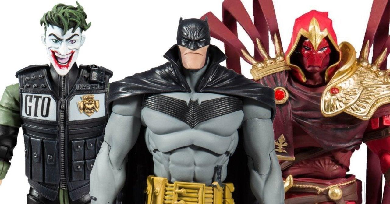 DC Multiverse Batman White Knight Azrael 7-Inch Action Figure Comic McFarlane