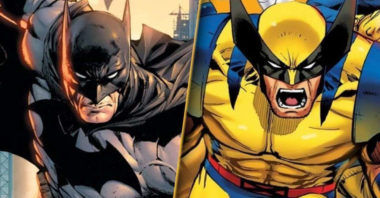 DC vs. Marvel Comic Puts Batman and Wolverine in Explosive Showdown