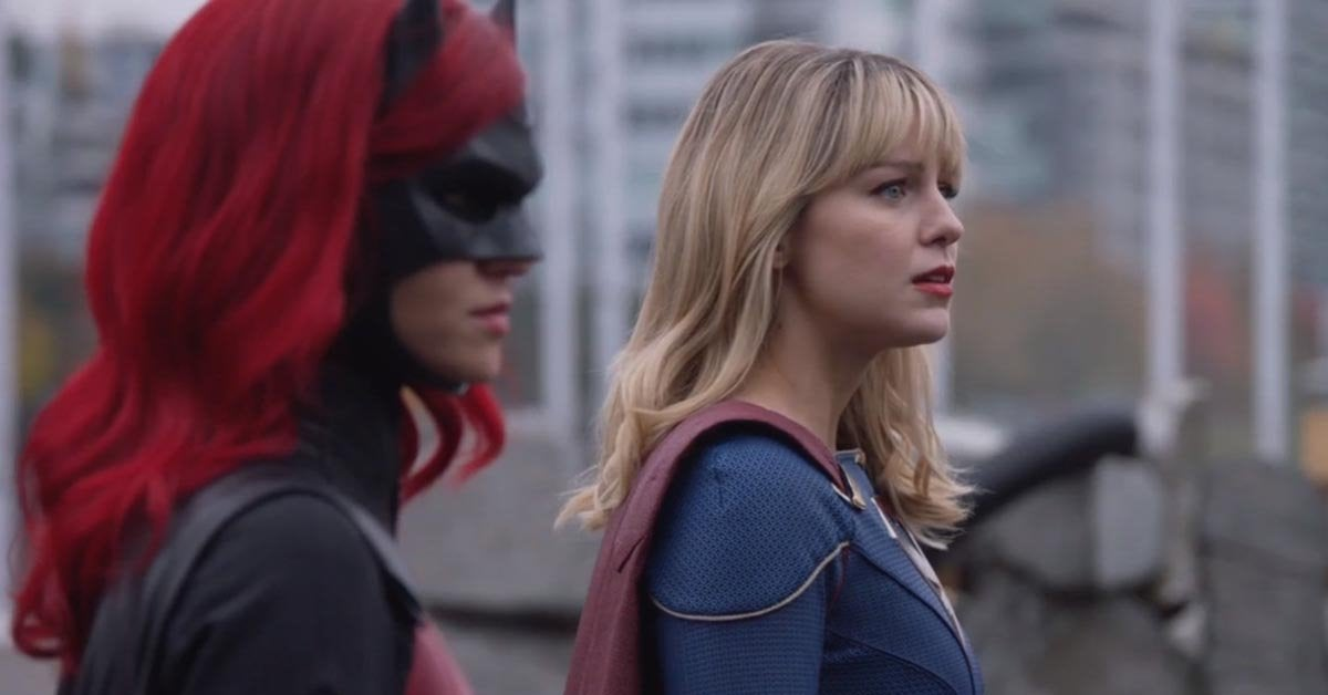 batwoman supergirl cameo appearance