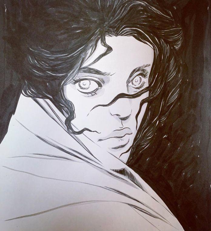 Becky Cloonan - Mysterious Woman