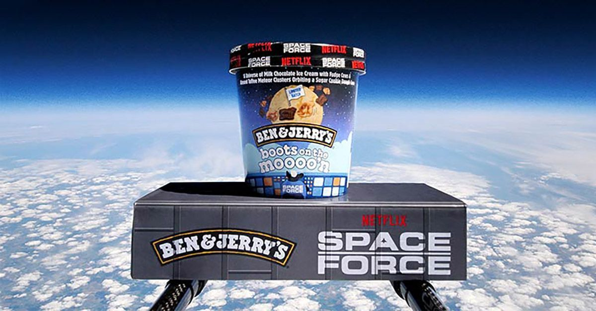 ben and jerry netflix boots on the moon space force 2
