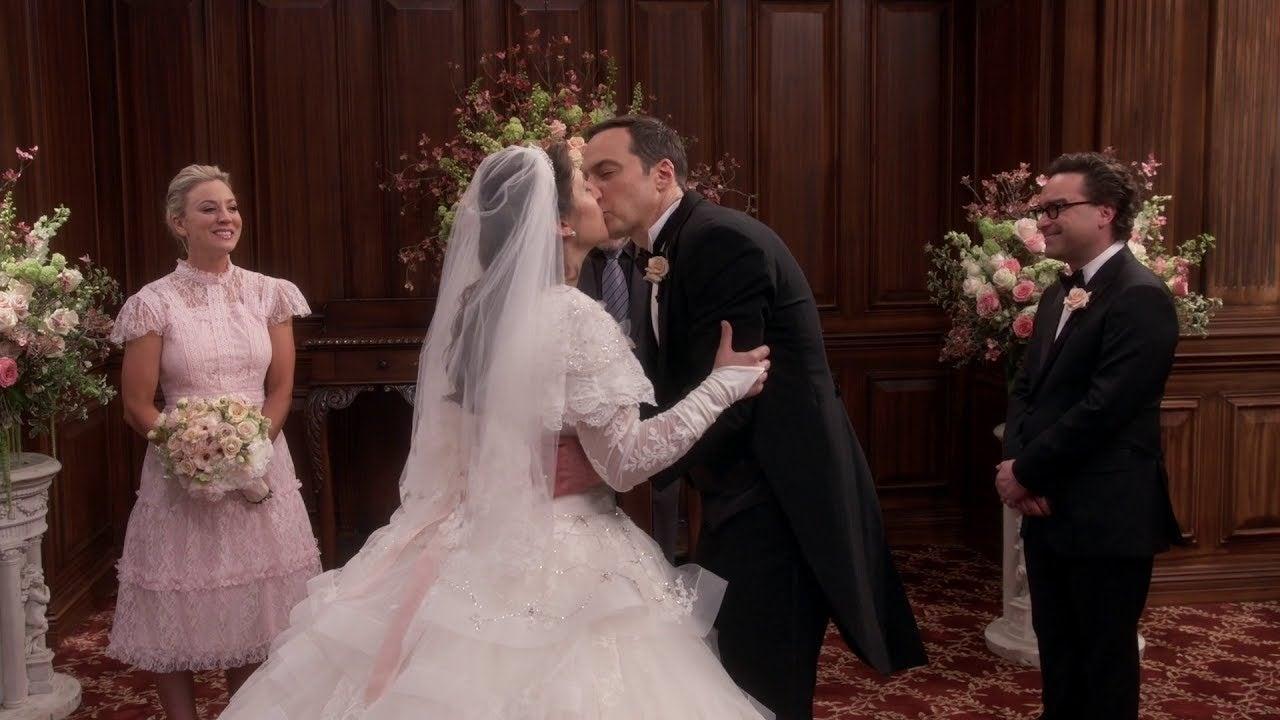 big bang theory wedding sheldon amy
