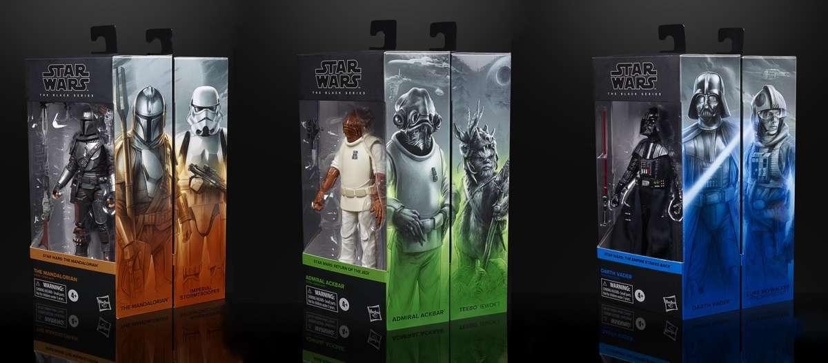 Star Wars Black Series wave 1 Lot de 7 figurines beskar Ackbar Kamino en Stock