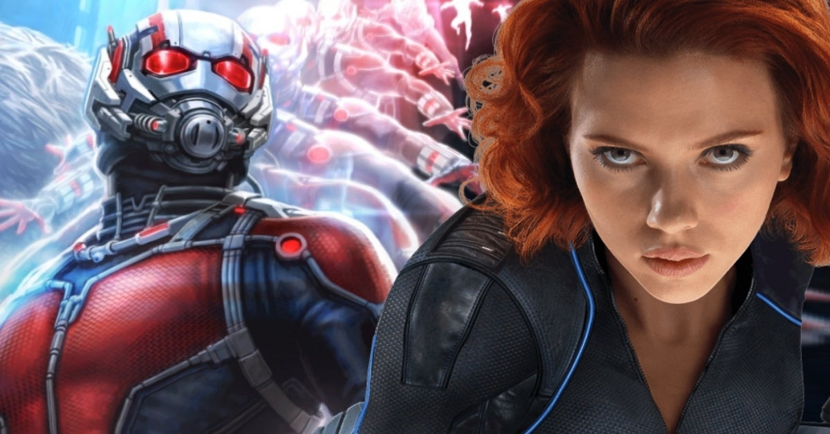 Black Widow Ant-Man comicbookcom