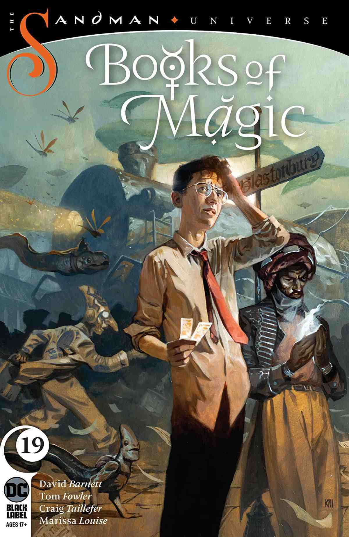 Books of Magic #19