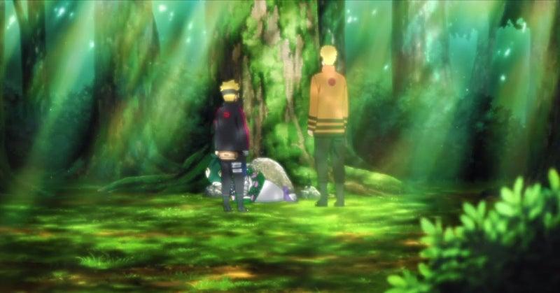 Boruto Naruto Jiraiya's Grave Anime