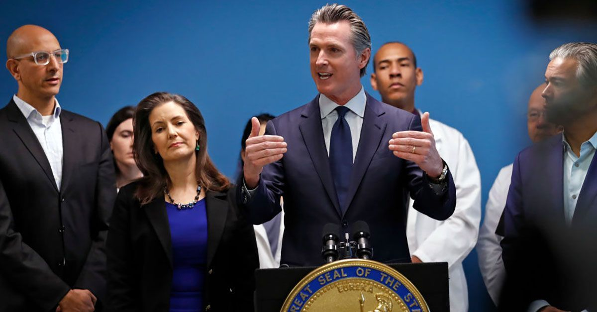 california gov gavin newsom