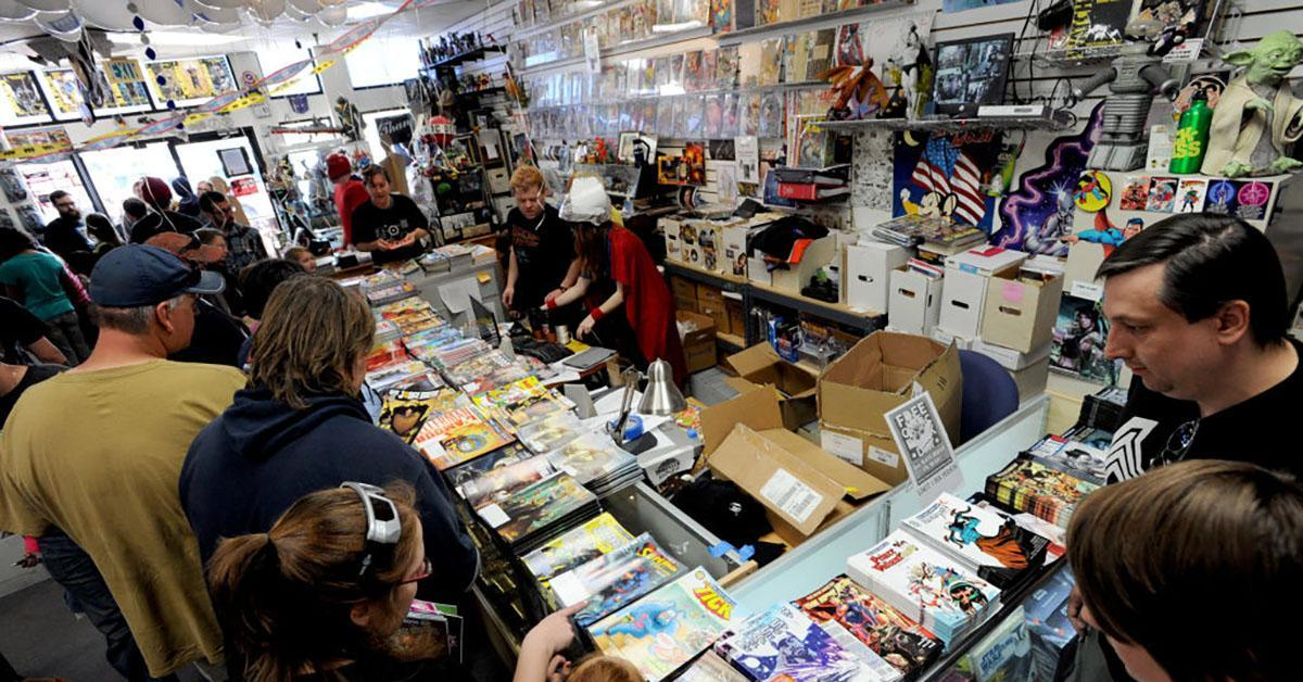 comic book shop getty images