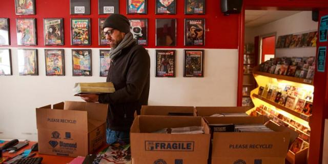 comic shops way forward covid getty images