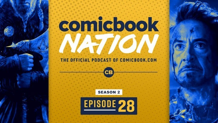 ComicBook Nation Podcast Assassins Creed Valhalla details Iron Man MCU Return Netflix Extraction Movie Reviews