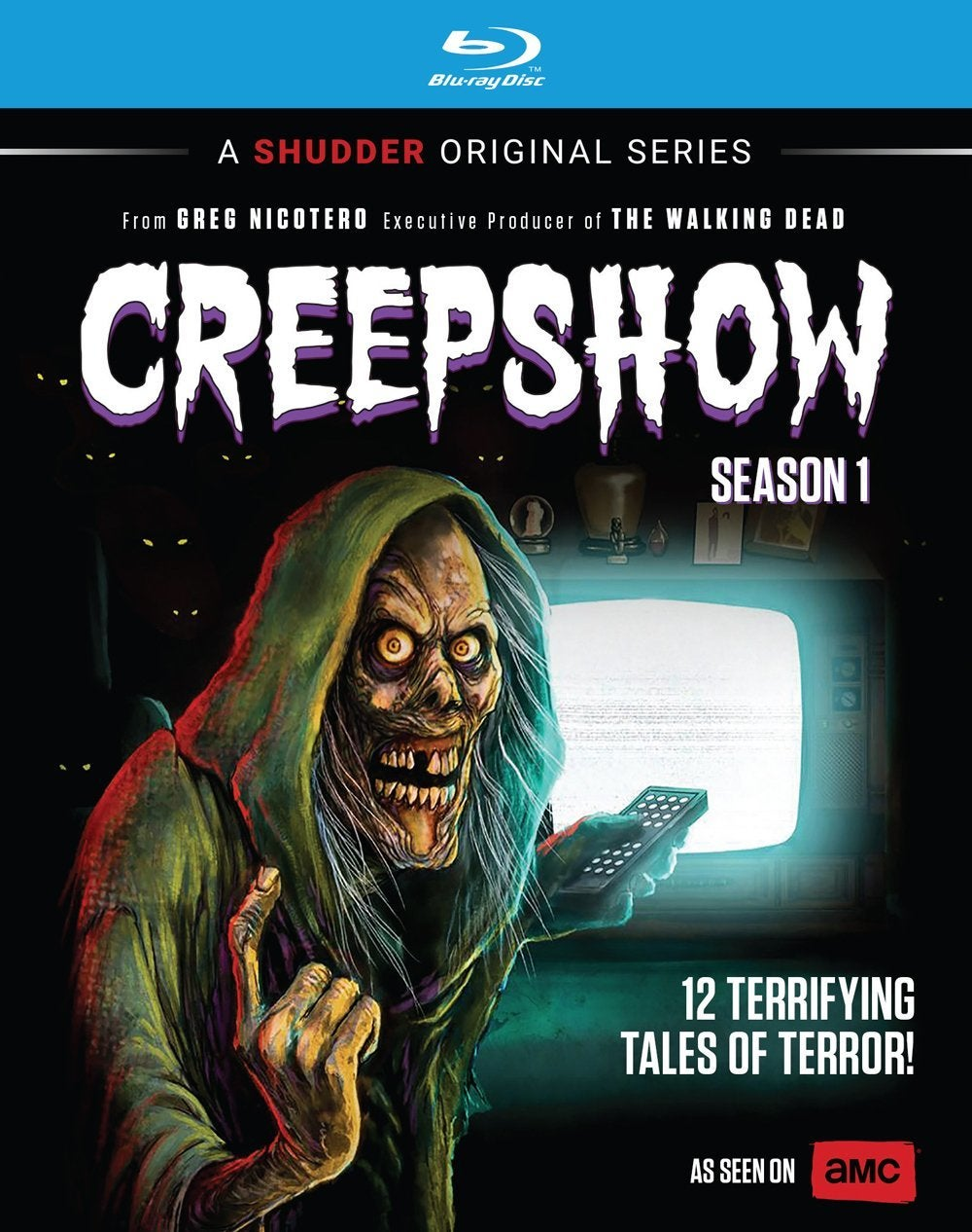creepshow season one blu ray cover shudder