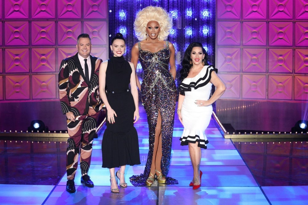 daisy ridley rupaul's drag race first look