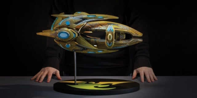 dark horse starcraft protoss carrier replica new cropped hed