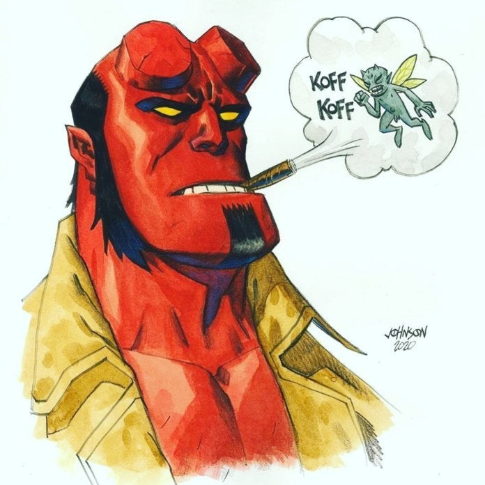 Dave Johnson - Hellboy