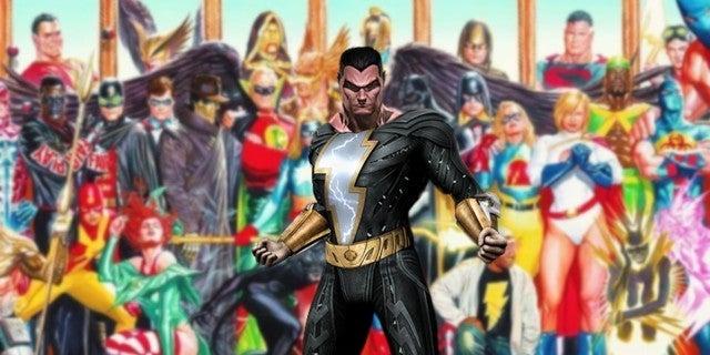 DC Black Adam Movie Justice Sociey America Spinoff Film