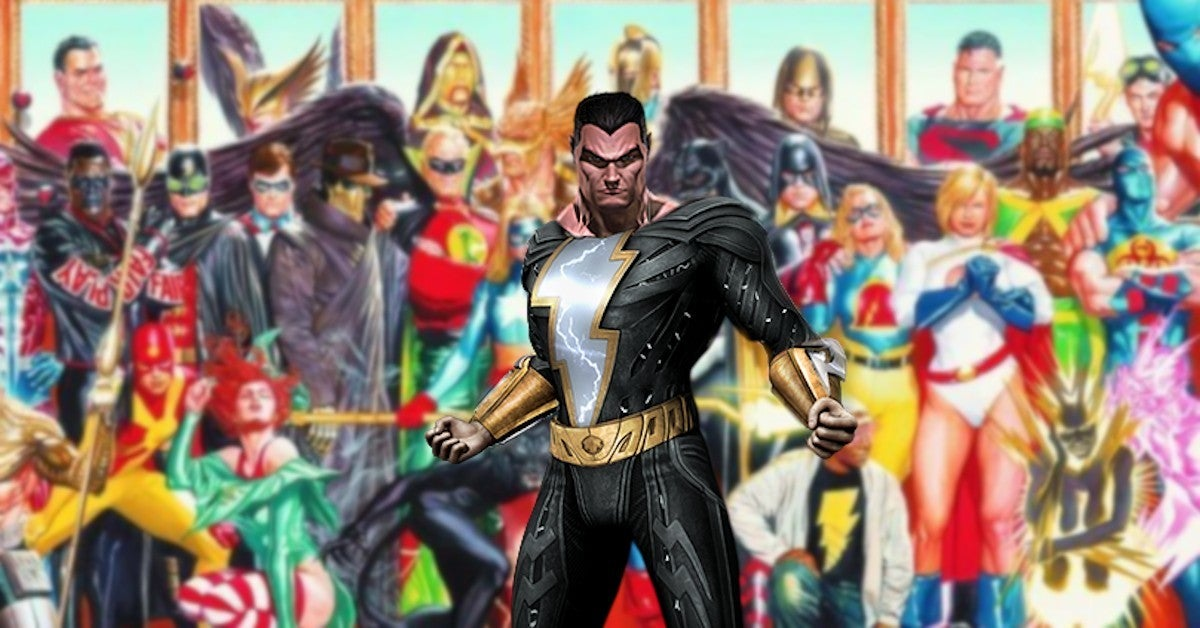 DC Black Adam Movie Justice Sociey America Spinoff Film