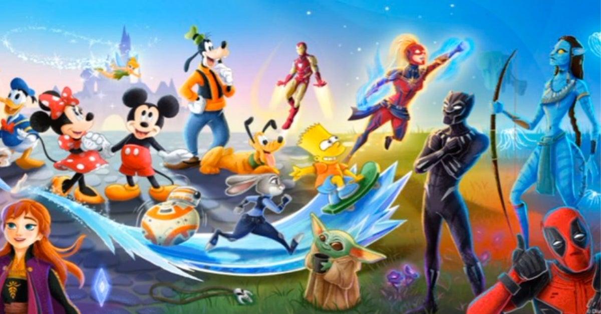 Disney characters Deadpool Bob Iger