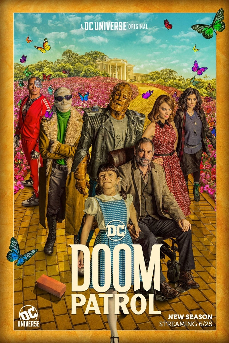 doom patrol season 2 poster 1
