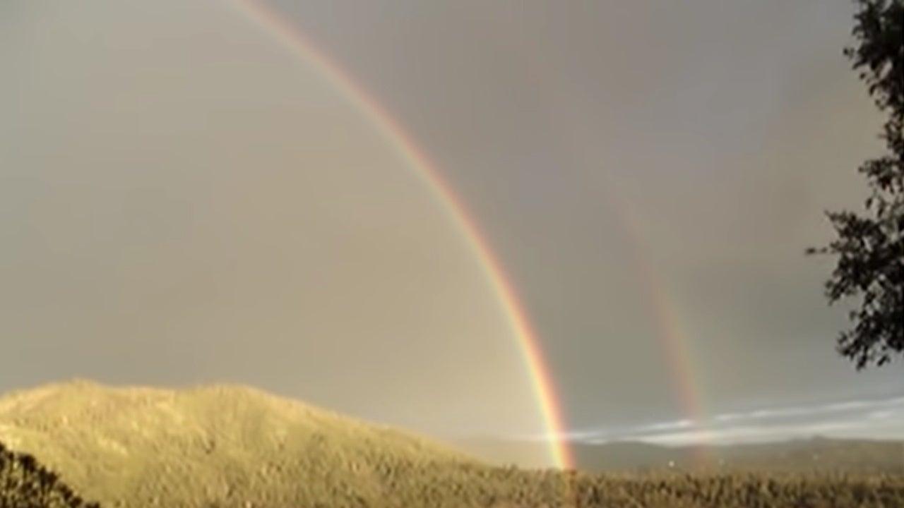double rainbow video yosemitebear paul vasquez
