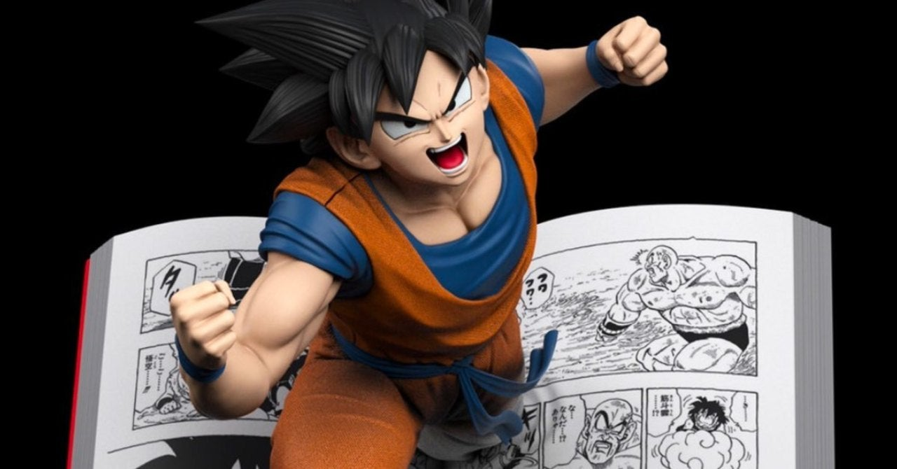 Dragon Ball Z Shares a Look at Goku's Best Statue Yet