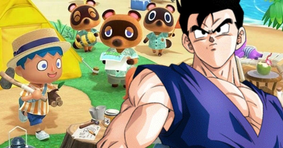 Dragon Ball Gohan Animal Crossing New Horizons
