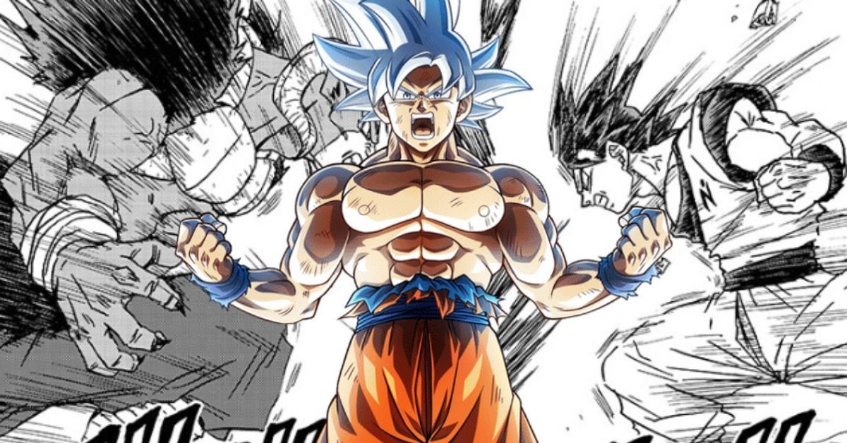 Dragon Ball Super Goku Moro Explosive Battle Manga