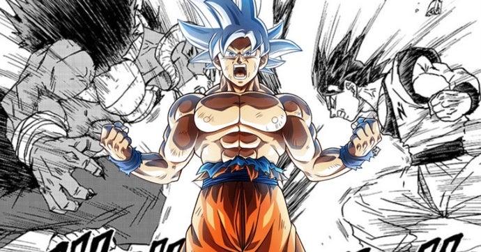 Dragon Ball Super Goku Moro Explosive Battle Manga