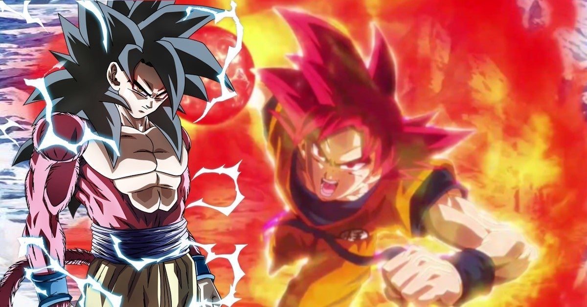 Dragon Ball Super Saiyan God vs Super Saiyan 4 Which Stronger