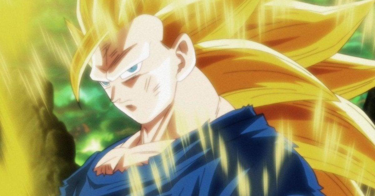 Dragon Ball Super SSJ3 Goku